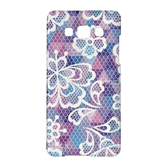 Cute  Colorful Nenuphar Phone Case Samsung Galaxy A5 Hardshell Case  by Brittlevirginclothing