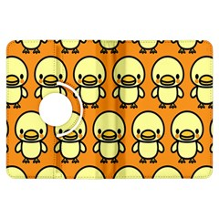 Small Duck Yellow Kindle Fire Hdx Flip 360 Case by Jojostore