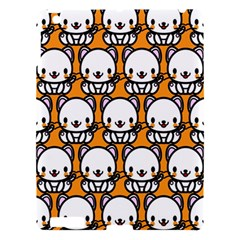 Sitwhite Cat Orange Apple Ipad 3/4 Hardshell Case by Jojostore