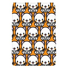 Sitwhite Cat Orange Flap Covers (s)  by Jojostore