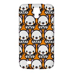 Sitwhite Cat Orange Samsung Galaxy Mega 6 3  I9200 Hardshell Case by Jojostore