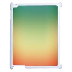 Smooth Gaussian Apple Ipad 2 Case (white)