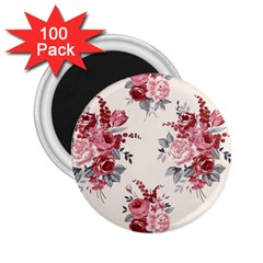 Rose Beauty Flora 2 25  Magnets (100 Pack)  by Jojostore