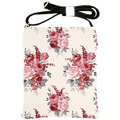 Rose Beauty Flora Shoulder Sling Bags by Jojostore