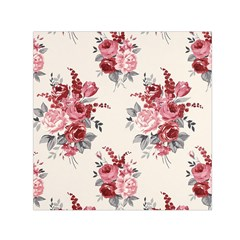 Rose Beauty Flora Small Satin Scarf (square) by Jojostore