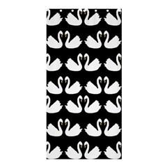 Swan Animals Shower Curtain 36  X 72  (stall)  by Jojostore