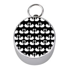 Swan Animals Mini Silver Compasses by Jojostore