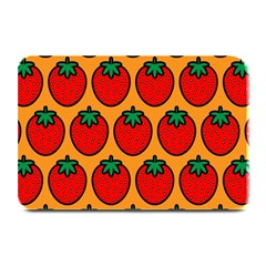 Strawberry Orange Plate Mats by Jojostore