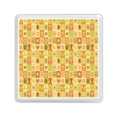 Texture Background Stripes Color Animals Memory Card Reader (square)  by Jojostore