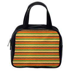 Striped Pictures Classic Handbags (one Side) by Jojostore