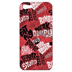 Tals Stupid Apple Iphone 5 Hardshell Case by Jojostore