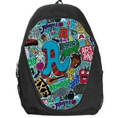 Teks Face Backpack Bag by Jojostore
