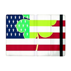 Usa Ireland American Flag Shamrock Irish Funny St Patrick Country Flag  Apple Ipad Mini Flip Case by yoursparklingshop