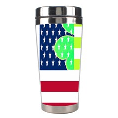 Usa Ireland American Flag Shamrock Irish Funny St Patrick Country Flag  Stainless Steel Travel Tumblers by yoursparklingshop