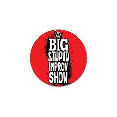Big Stupid Profile Golf Ball Marker (10 Pack) by Jojostore