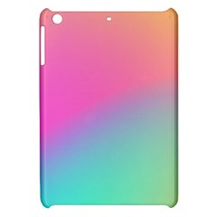 Pink Blue Apple Ipad Mini Hardshell Case by Jojostore