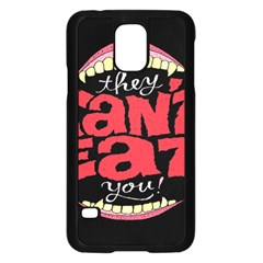Cant Eat Samsung Galaxy S5 Case (black) by Jojostore