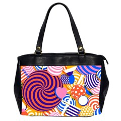 Canddy Color Office Handbags (2 Sides)  by Jojostore