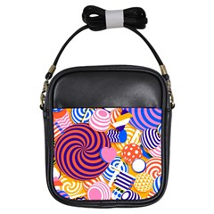 Canddy Color Girls Sling Bags by Jojostore