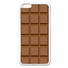 Chocolate Apple Iphone 6 Plus/6s Plus Enamel White Case by Jojostore