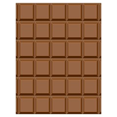Chocolate Drawstring Bag (large) by Jojostore