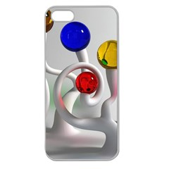 Colorful Glass Balls Apple Seamless Iphone 5 Case (clear) by Jojostore