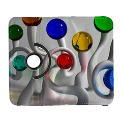 Colorful Glass Balls Galaxy S3 (flip/folio) by Jojostore