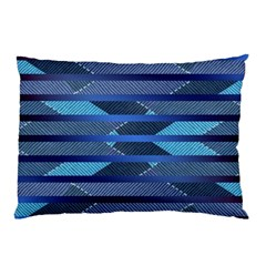 Abric Texture Alternate Direction Pillow Case (two Sides) by Jojostore