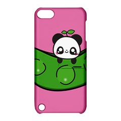 Edamame Panda Pink Cute Animals Apple Ipod Touch 5 Hardshell Case With Stand by Jojostore