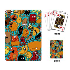 Creature Cluster Playing Card by Jojostore