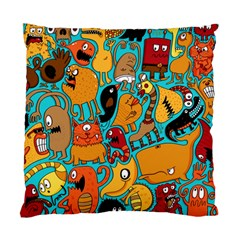 Creature Cluster Standard Cushion Case (one Side) by Jojostore
