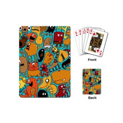 Creature Cluster Playing Cards (mini)  by Jojostore