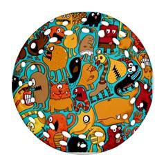 Creature Cluster Ornament (round Filigree)  by Jojostore
