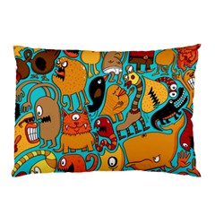Creature Cluster Pillow Case (two Sides) by Jojostore
