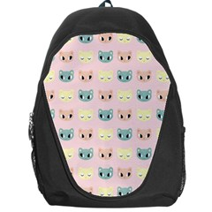 Face Cute Cat Backpack Bag by Jojostore