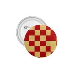 Fabric Geometric Red Gold Block 1 75  Buttons by Jojostore
