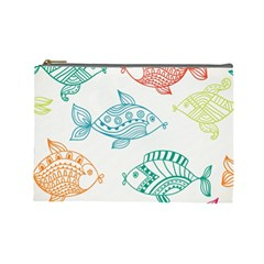 Fish Cosmetic Bag (large)