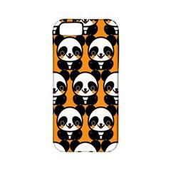 Halloween Night Cute Panda Orange Apple Iphone 5 Classic Hardshell Case (pc+silicone) by Jojostore