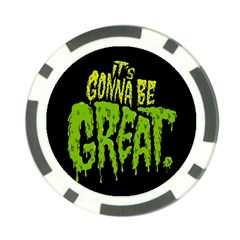 Its Gonna Be Great Poker Chip Card Guards (10 Pack)  by Jojostore