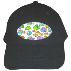 Fishes Col Fishing Fish Black Cap by Jojostore