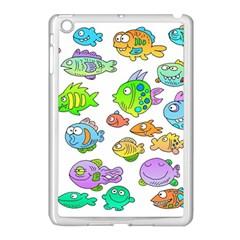 Fishes Col Fishing Fish Apple Ipad Mini Case (white) by Jojostore