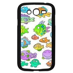 Fishes Col Fishing Fish Samsung Galaxy Grand Duos I9082 Case (black) by Jojostore
