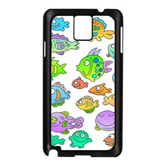 Fishes Col Fishing Fish Samsung Galaxy Note 3 N9005 Case (black) by Jojostore