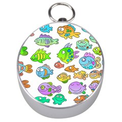 Fishes Col Fishing Fish Silver Compasses