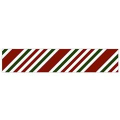 Line Christmas Stripes Flano Scarf (small) by Jojostore