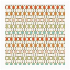 Lab Pattern Hexagon Multicolor Medium Glasses Cloth (2 Side) by Jojostore