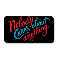 Madmen Nobody Cares Medium Bar Mats by Jojostore