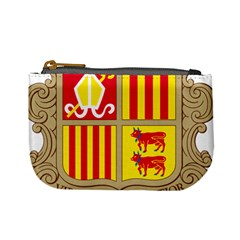 Coat Of Arms Of Andorra Mini Coin Purses by abbeyz71