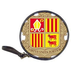 Coat Of Arms Of Andorra Classic 20 Cd Wallets by abbeyz71