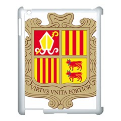 Coat Of Arms Of Andorra Apple Ipad 3/4 Case (white) by abbeyz71